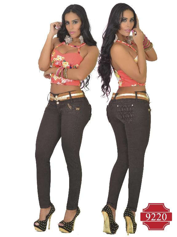 Jeans Colombiano Levantacola Osheas  - Ref. 103 -9220