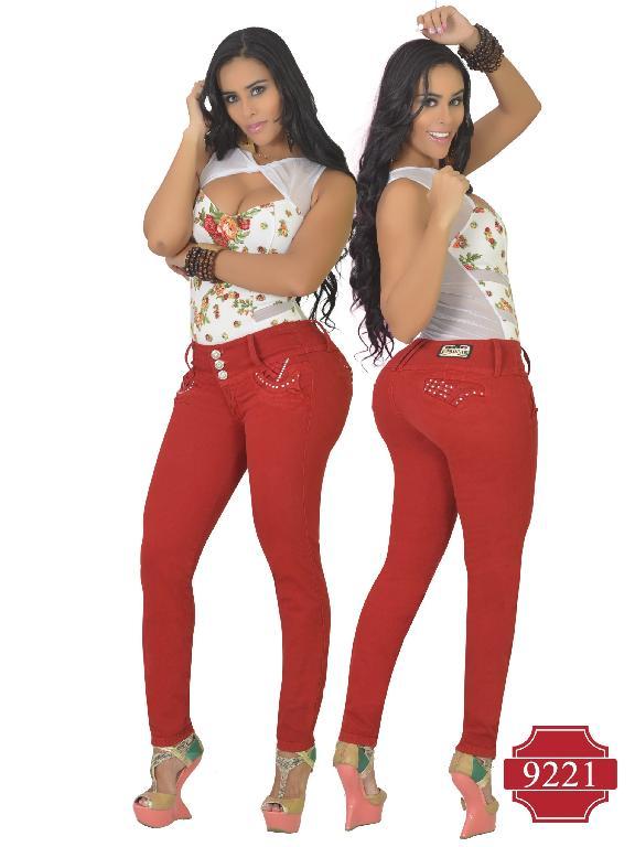 Jeans Colombiano Levantacola Osheas  - Ref. 103 -9221