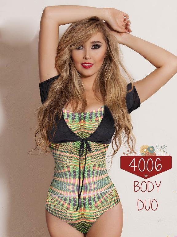 Body Moda Colombiana Cereza  - Ref. 111 -4006