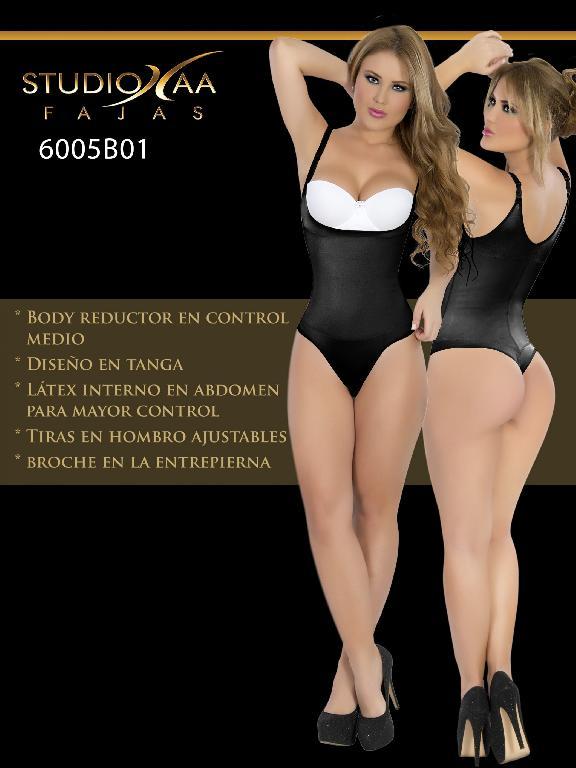 Faja Colombiana Studio AA - Ref. 110 -6005 Tanga Negra