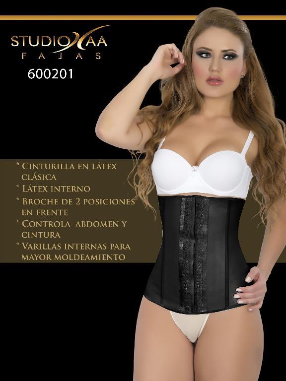 Faja Colombiana Studio AA - Ref. 110 -6002 Negra