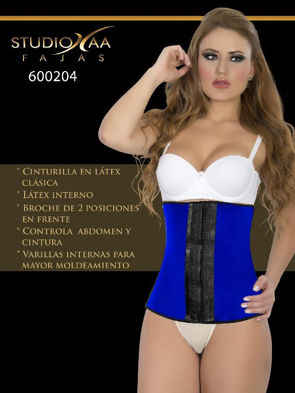 Faja Colombiana Studio AA - Ref. 110 -6002 Azul