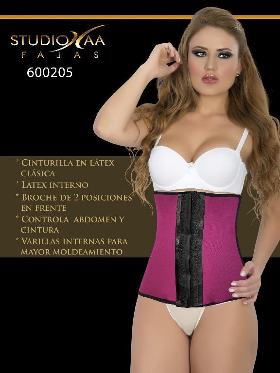 Faja Colombiana Studio AA - Ref. 110 -6002 Fucsia