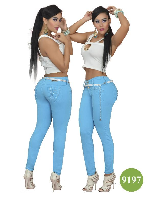 Jeans Colombiano Levantacola Osheas  - Ref. 103 -9197
