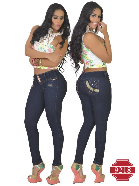 Jeans Levantacola Colombiano Osheas - Ref. 103 -9218