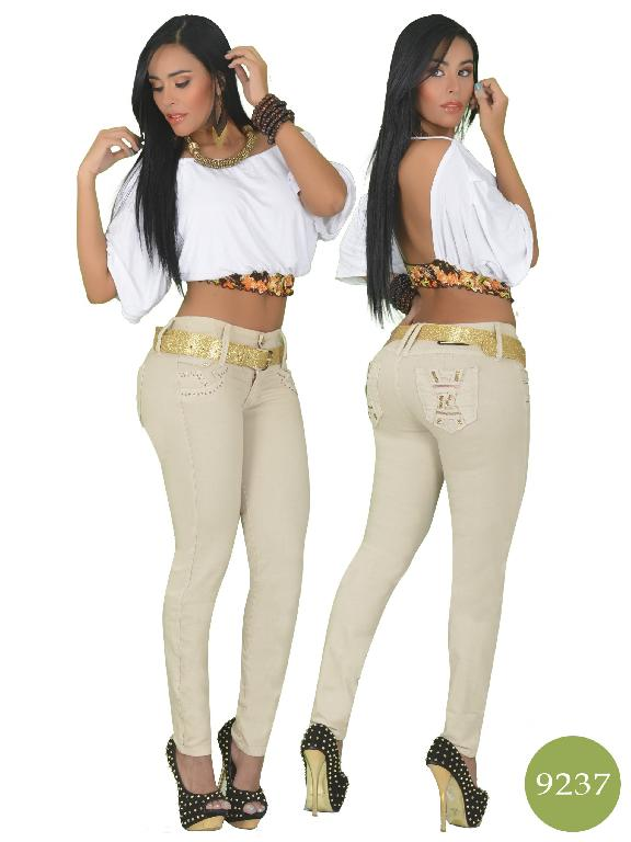 Jeans Levantacola Colombiano Osheas - Ref. 103 -9237