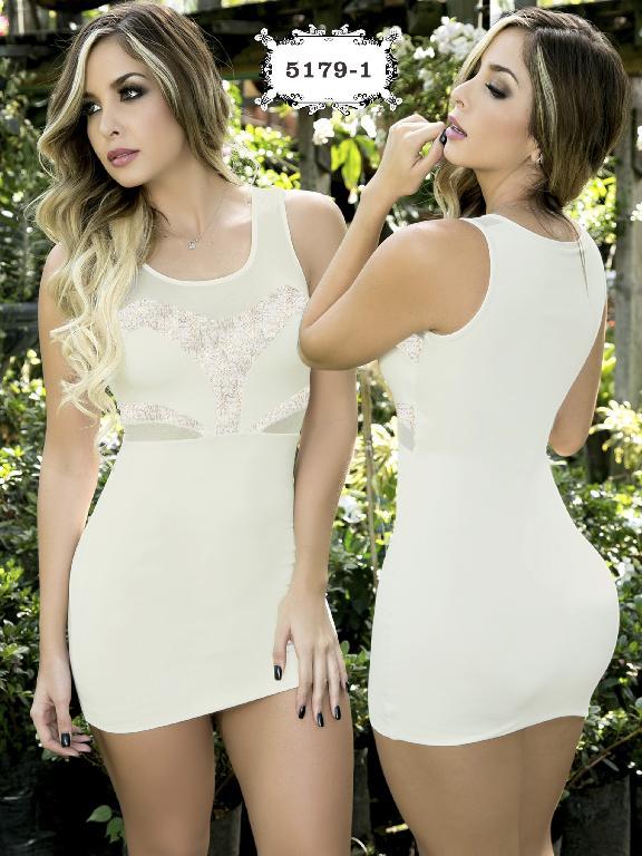 Vestido Moda Colombiano Thaxx - Ref. 119 -51791