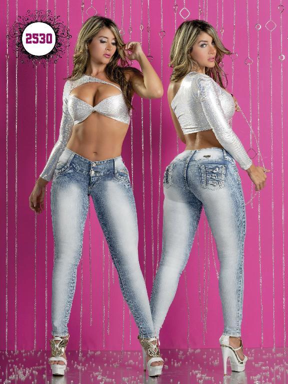 Jeans Levantacola Colombiano Capellini Boutique  - Ref. 106 -2530
