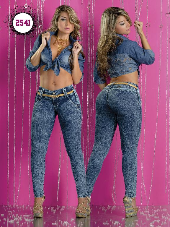 Jeans Levantacola Colombiano Capellini Boutique  - Ref. 106 -2541