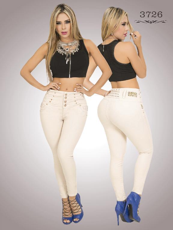 Jeans Levantacola Colombiano Cokette - Ref. 119 -3726