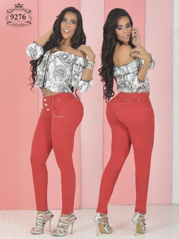Jeans Levantacola Colombiano Osheas - Ref. 103 -9276