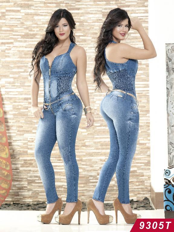 Jeans Levantacola Colombiano Tabbachi  - Ref. 101 -9305T