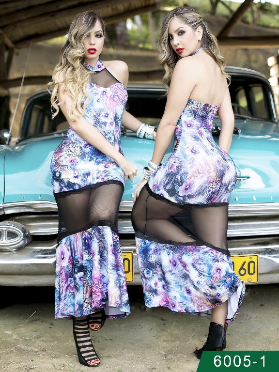 Vestido Moda Colombiano Thaxx - Ref. 119 -60051