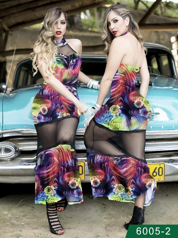 Vestido Moda Colombiano Thaxx - Ref. 119 -60052