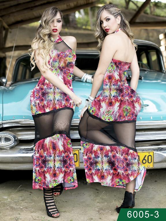 Vestido Moda Colombiano Thaxx - Ref. 119 -60053