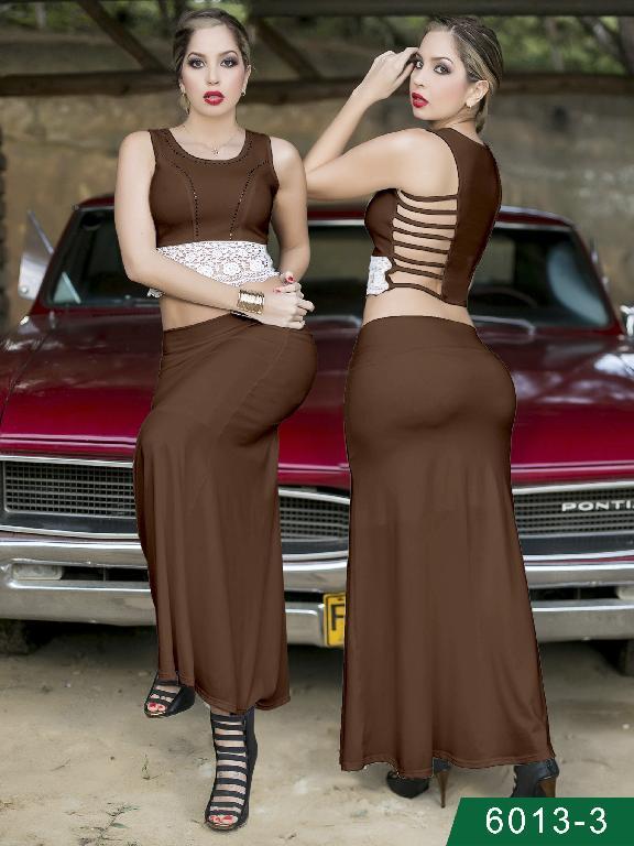 Vestido Moda Colombiano Thaxx - Ref. 119 -60133