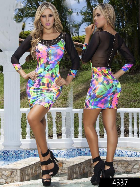 Vestido Moda Cereza - Ref. 111 -4337