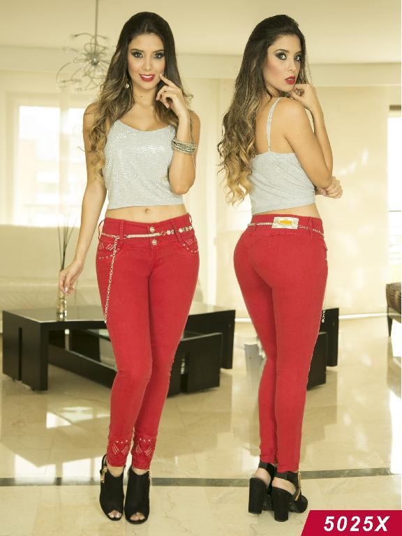 Jeans Levantacola Colombiano Xpice - Ref. 103 -5025X