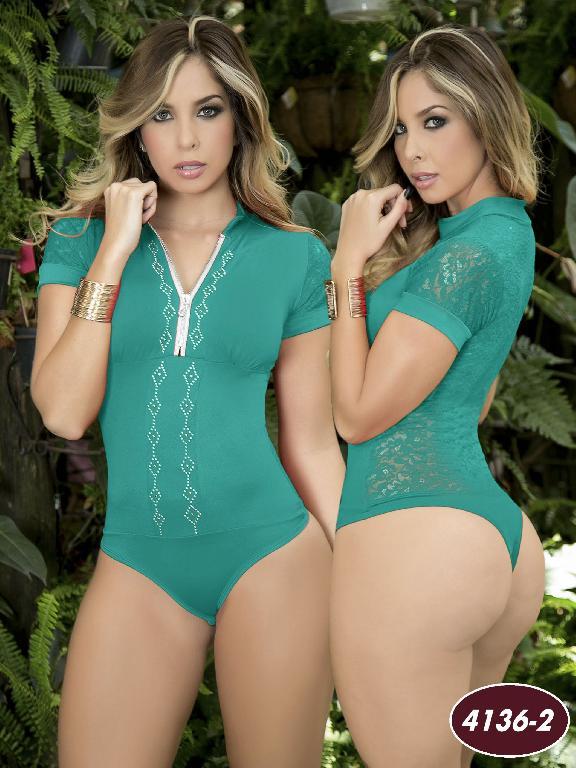 Body Redcutor Colombiano Capellini - Ref. 114 -41362 Verde