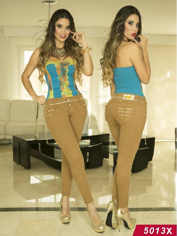 Jeans Levantacola Colombiano Xpice - Ref. 103 -5013X