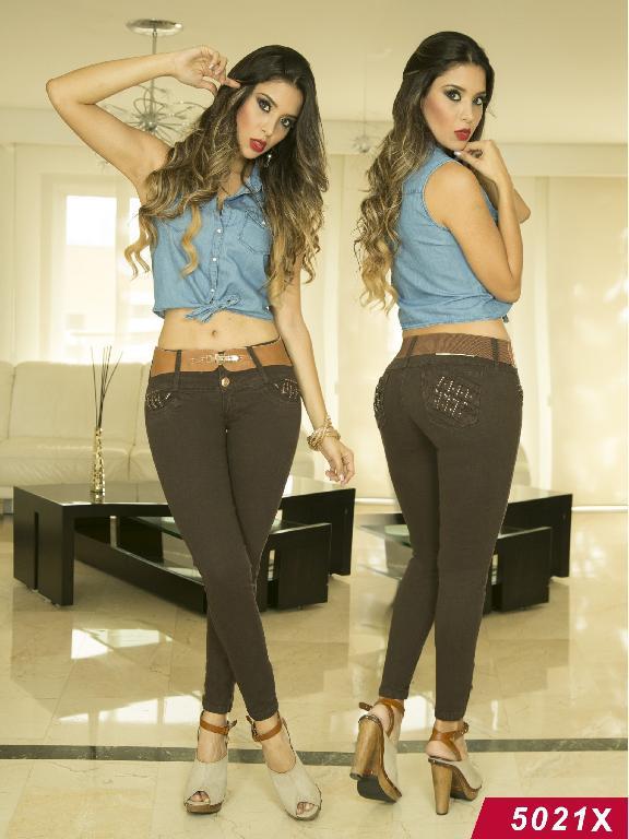 Jeans Levantacola Colombiano Xpice - Ref. 103 -5021X