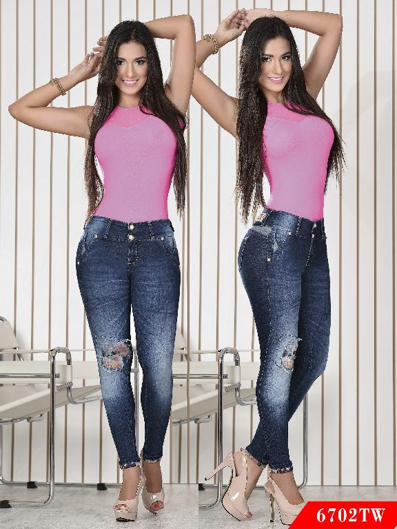 Jeans Levantacola Colombiano Top Women
