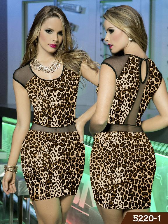 Vestidos Moda Thaxx - Ref. 119 -52201
