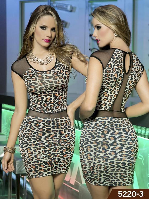 Vestidos Moda Thaxx - Ref. 119 -52203