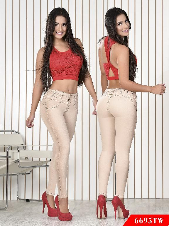 Jeans Levantacola Colombiano Top Women  - Ref. 123 -6695TW