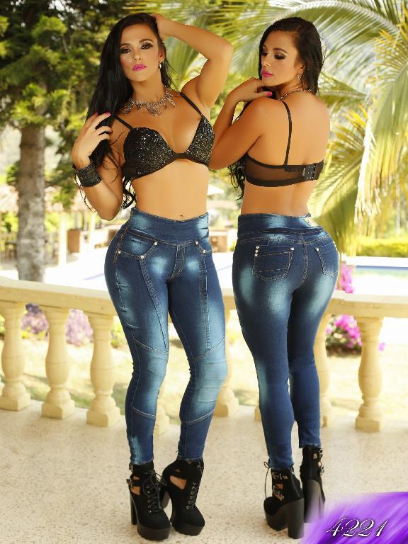 Jeans Levantacola Colombiano Kpriccio