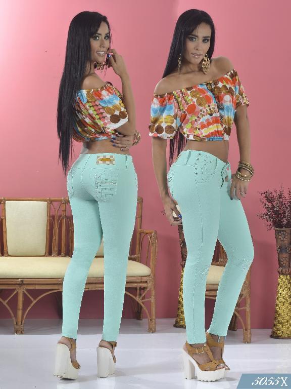Jeans Levantacola Colombiano Xpice - Ref. 103 -5055X