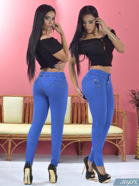 Jeans Levantacola Colombiano Xpice - Ref. 103 -5043X