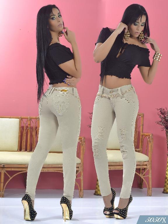 Jeans Levantacola Colombiano Xpice - Ref. 103 -5050X