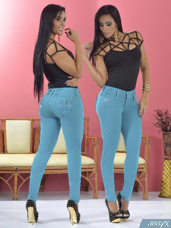 Jeans Levantacola Colombiano Xpice - Ref. 103 -5054X