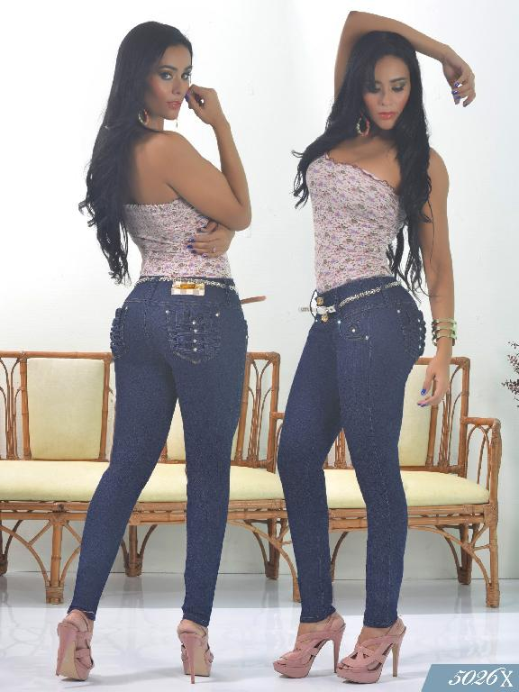 Jeans Levantacola Colombiano Xpice - Ref. 103 -5026X