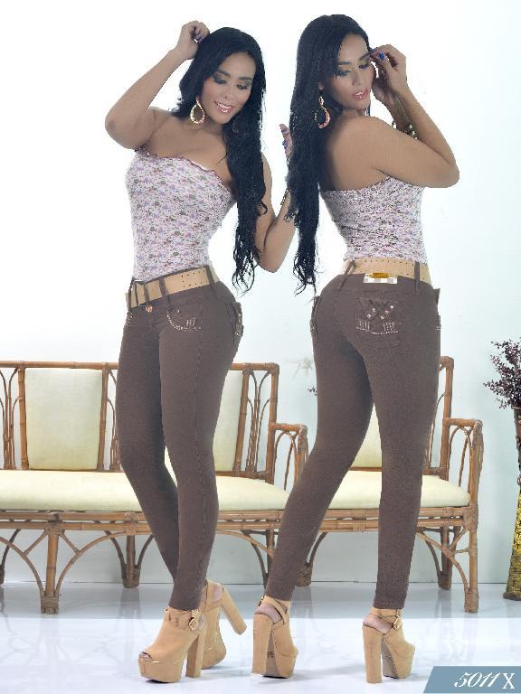 Jeans Levantacola Colombiano Xpice - Ref. 103 -5011X
