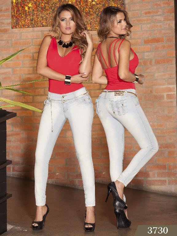 Jeans Levantacola Colombiano cokette - Ref. 119 -3730