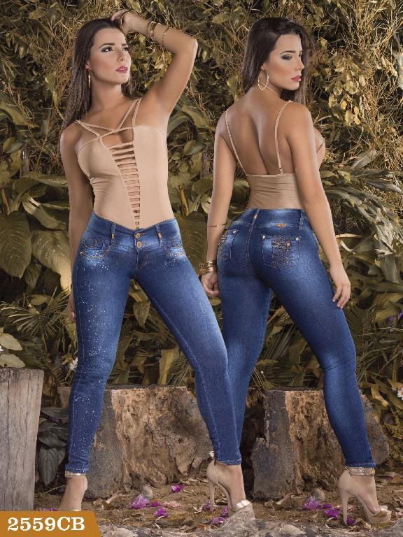 Jeans Levantacola Colombiano Capellini Boutique  - Ref. 106 -2559CB