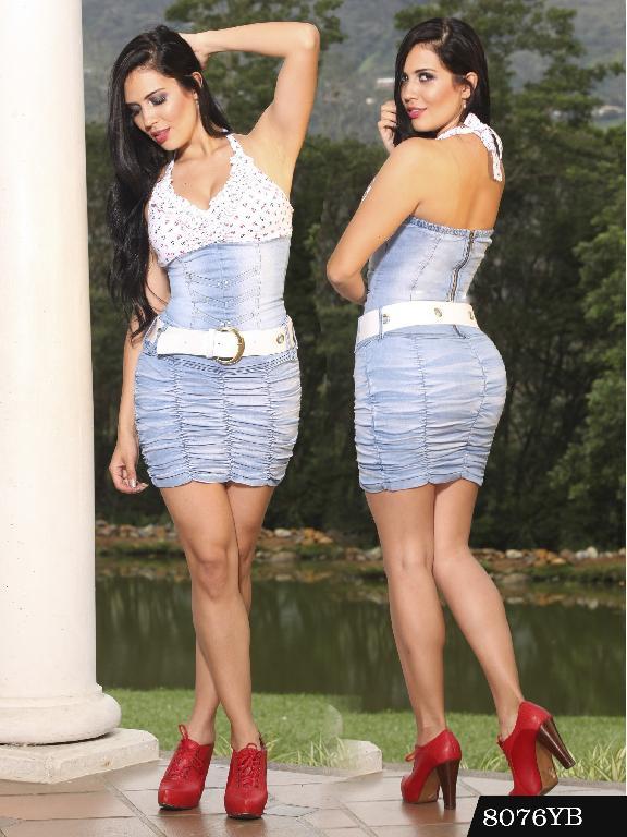 Vestido Levantacola Colombiano Yes Brazil  - Ref. 113 -8076