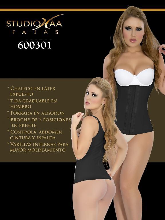 Faja Colombiana Studio AA - Ref. 110 -6003 Negra
