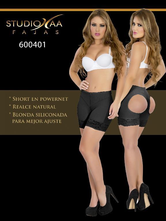 Faja Colombiana Studio AA - Ref. 110 -6004 Negra