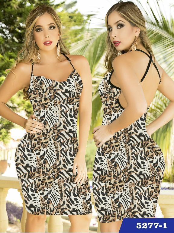 Vestido Moda Thaxx  - Ref. 119 -52771