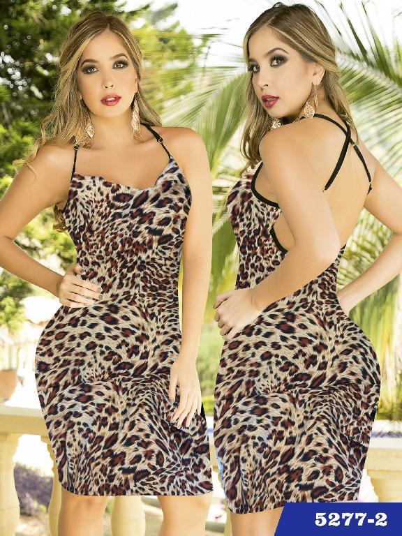 Vestido Moda Thaxx  - Ref. 119 -52772