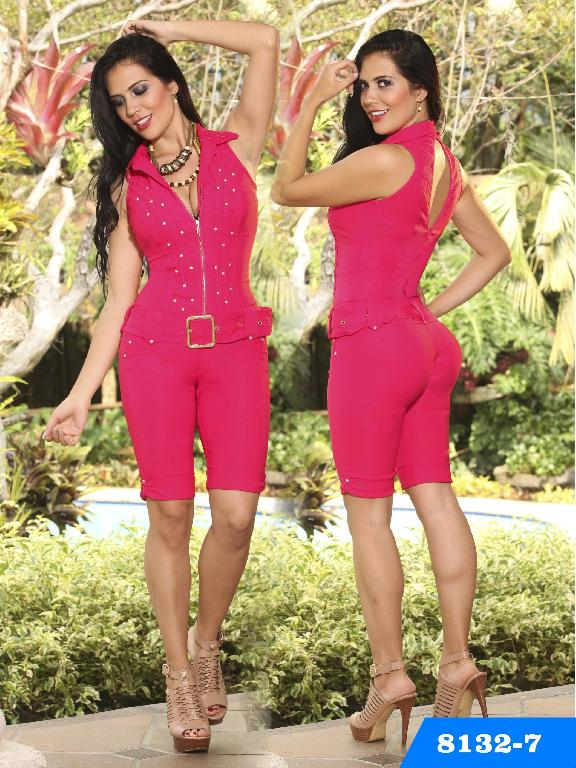 Enterizo Levantacola Colombiano Yes Brazil  - Ref. 113 -8132-7 Fucsia
