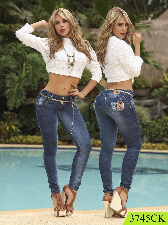 Jeans Levantacola Colombiano Cokette  - Ref. 119 -3745