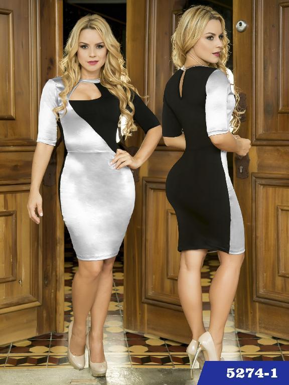 Vestido Moda Colombiana Thaxx - Ref. 119 -52741
