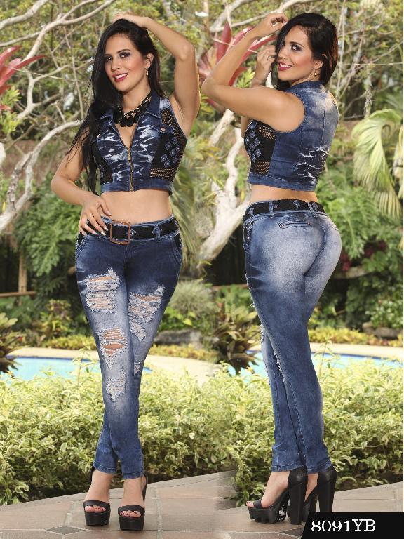 Conjunto Levantacola Colombiano Yes Brazil  - Ref. 113 -8091