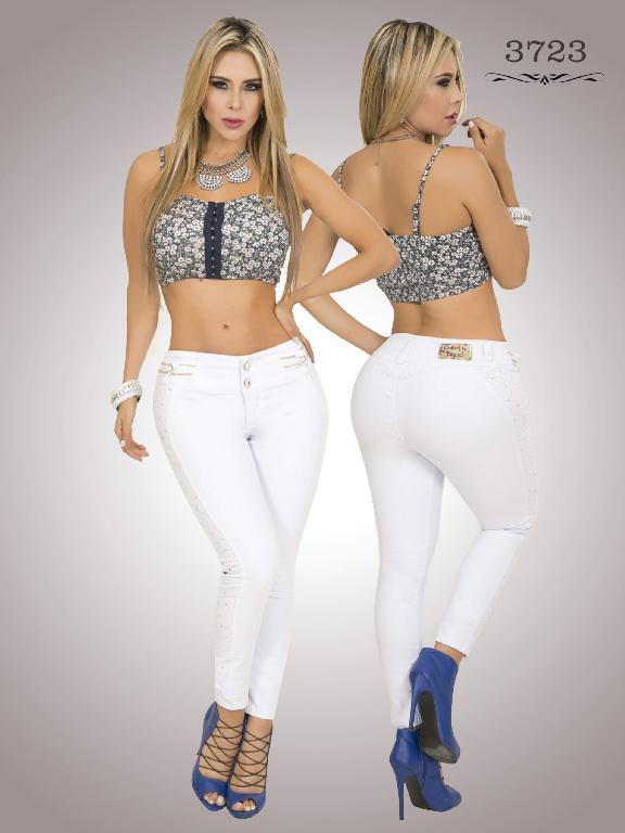 Jeans Levantacola Colombiano Cokette - Ref. 119 -3723