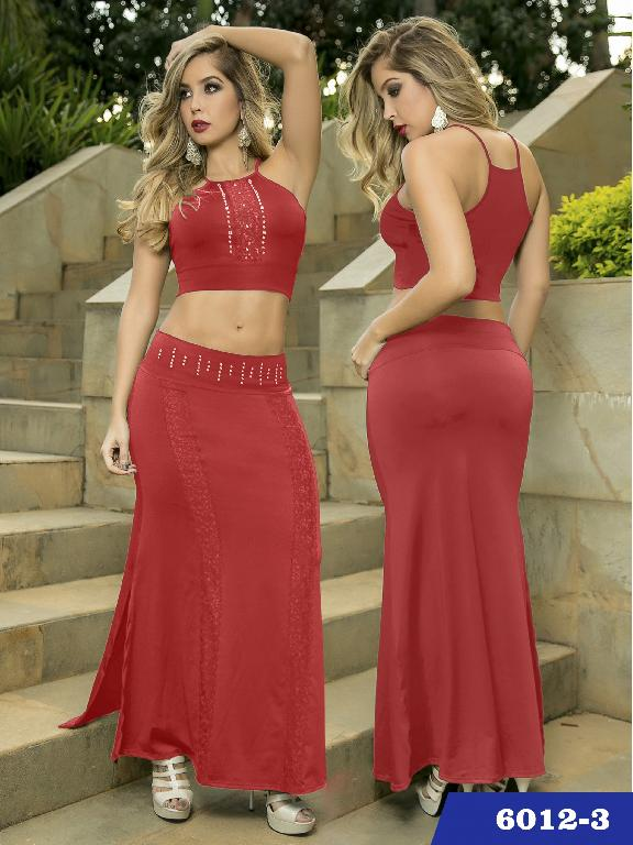 Vestido Moda Thaxx  - Ref. 119 -60123
