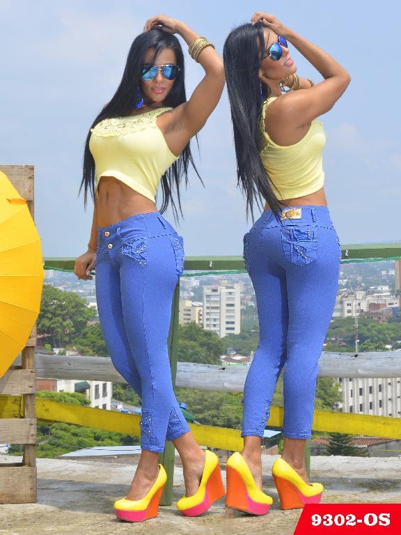 Jeans Levantacola Colombiano Osheas  - Ref. 103 -9302 OS